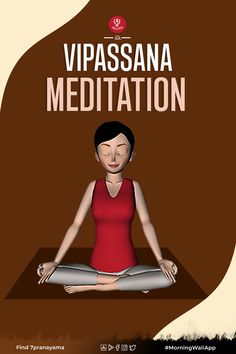 Vipassana means to watch things as they actually are. It is one of India's earliest techniques of meditation. This technique was taught in India many years ago as a universal solution for universal ills. This vipassana meditation is known as the art of living. It is a non-religious technique intended for the complete eradication of mental impurities. It also aims for the resulting highest happiness of full liberation.