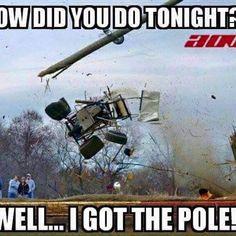 How Did You Do Tonight ? I Got the Pole! Sprint Car Racing, Real Racing, Dirt Track Racing, Nascar Racing, Auto Racing, Porsche, Audi, Triumph Motorcycles, Ducati