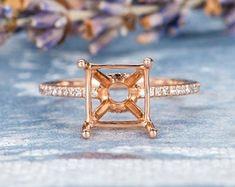 HANDMADE RINGS & BRIDAL SETS by MoissaniteRings on Etsy Bridal Ring Sets, Handmade Rings, Gold Rings, Etsy Seller, Engagement Rings, Merry, Jewelry, Enagement Rings, Jewels