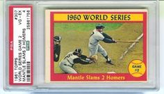 1961-Topps-307-World-Series-Game-2-Mickey-Mantle-Slams-2-Homers-PSA-4