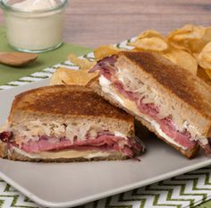 Try this delicious Reuben Sandwiches recipe today!