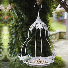 Aged Metal Hanging Bird Feeder   Garden   Home & Lifestyle   Kaleidoscope