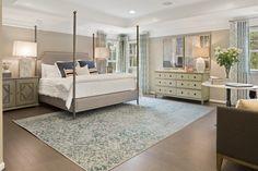 Van Metre Homes - The Southbury Model at Sunberry - Master Bedroom