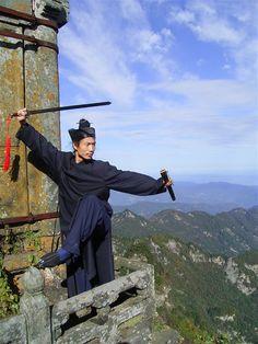 Master Bing, Wudang Tai Ji Quan - Wudang Mountains, China - taichicrossroads.blogspot.com # TaiChi #Taijiquan