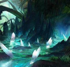 ArtStation - Diamond cave, 正元 王