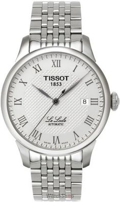 Tissot Le Locle Men's Automatic White Dial Watch with Stainless Steel Bracelet The name Le Locle seems to be a reliable ingredient of success. Gold And Silver Watch, Silver Man, Stainless Steel Watch, Stainless Steel Bracelet, Best Mens Luxury Watches, Le Locle, Swiss Army Watches, Automatic Watch, Link Bracelets