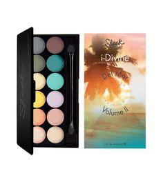 10  Sleek MakeUP - Paleta de sombras i-Divine Del Mar Vol.2