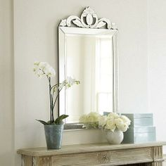 Venetian mirrors have been prized for centuries for their fine quality and intricately crafted details.