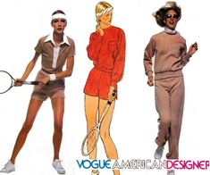 70s Retro Womens Tracksuit Shorts Pattern by allthepreciousthings