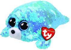 Beanie Boos Australia - Waves the Blue Seal Regular Flippable Ty Stuffed Animals, Plush Animals, Dinosaur Stuffed Animal, Stuffed Toys, Baby Girl Toys, Toys For Girls, New Beanie Boos, Beanie Boo Birthdays, Head Shop
