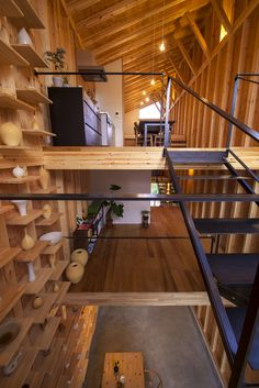 House for Pottery Festival - Office for Environment Architecture - Japan - Floor Levels - Humble Homes
