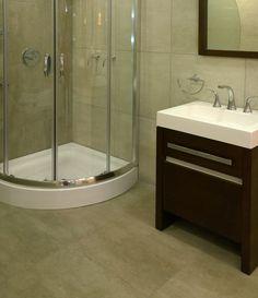 Manhattan Vanity, Bathroom, Manhattan, Dark Wood, Shopping, Restroom Decoration, Mirror, Crystals, Moldings