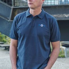 Navy Blue Sheffield Wednesday Inspired Polo shirt