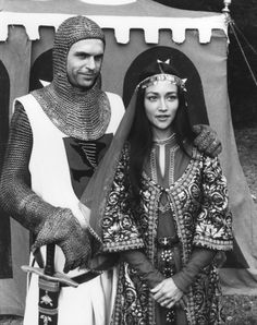 Almost a shame Rebecca didn´t want Sir Brian; they look great together! English Actresses, British Actresses, Actors & Actresses, Susan George, Leonard Whiting, Middle Age Fashion, Sam Neill, Olivia Hussey, Ella Enchanted