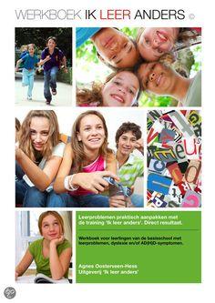 bol.com | Ik leer anders, Agnes Oosterveen-Hess | Nederlandse boeken  Werkboek voor beelddenkers