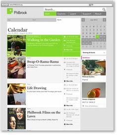 events calendar magazine layout - Google Search