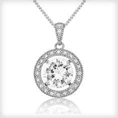 V Jewellery Brilliance Pendant-£70 http://www.cottonandgems.com/jewellery/necklaces/v-jewellery-brilliance-pendant