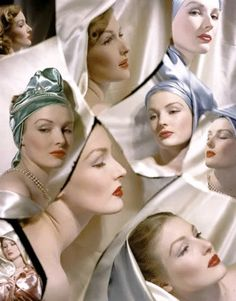 Horst P. Horst: Composite photo of Susann Shaw, 1943.