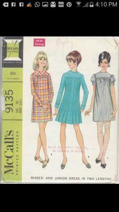 Vintage Mccalls Sewing Pattern 9135