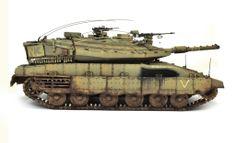 Merkava Mk. IV 1/35 Scale Model