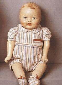 Veli (Brother) Martha doll from midcentury Finland.