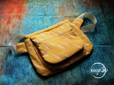 Loktu She wrap scrap hip bag made by KodoBa.   #Loktushe #KodoBa #hipbag #wrtapscrap #bluecalla