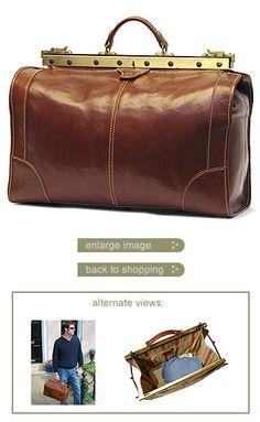 Positano Duffle - Quality Positano Leather Duffle Bags at Floto Imports