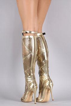 Gladiator Caged Heel