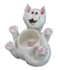Love this Cat Planter on #zulily! #zulilyfinds