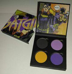 Batgirl Makeup Palette by Iheartfangirls on Etsy