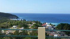 Vista desde Parador Vistamar,Quebradillas PR