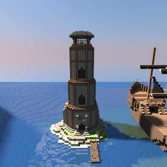 Sandstone Lighthouse Grabcraft Your Number One Source For