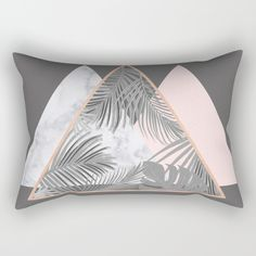 Our Rectangular Pillow is the ultimate decorative accent to any room. on @society6 BLUSH, COPPER, GRAY, PINK, MARBLE, GEOMETRIC, PATTERN, TROPICAL , HIPSTER, TRENDY, SOCIETY6, TRIANGLES, SCANDINAVIAN, PRINT, DUVET, BLACK AND WHITE, LEAVES, LEAF, SUMMER, FASHION, NATURE, INTERIOR DESIGN, HOME STYLE, DECORATION, HOME DECOR, DESIGN