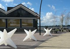 Star object - large - medium - small (NO LIGHT FITTING)  materiaal: Polyethylene (LDPE)http://www.kunstlicht.nl/kunstlicht_star_object.html