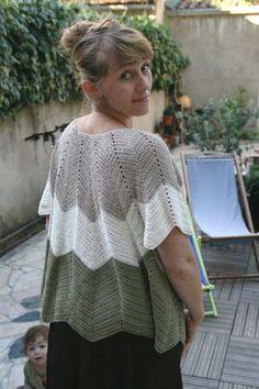 Petal Vest - Pattern in French