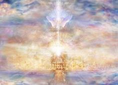 Heaven is a real place where your soul and spirit can live forever. We know heaven is real because of Jesus Christ, who came from heaven . Proof Of Heaven, Heaven Is Real, Heaven And Hell, Order Of Angels, Real Angels, Art Visionnaire, My Father's House, Supernatural Beings, Prophetic Art
