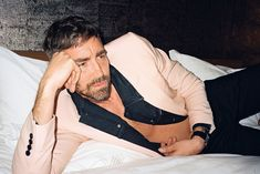 Lee Pace Catches Up with Jessica Lange, His Neighbor from Upstate Oklahoma, Anthony Vaccarello, Upcoming Films, Lee Pace, Thranduil, Calvin Klein Jeans, Captain Marvel, Beautiful Men, Hot Guys