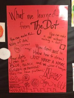 I love Art blog shares great examples of all their student work and includes information on what they learnt from participating in International Dot day.