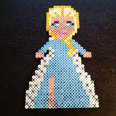 Elsa Frozen hama beads by  anna_maria_angelica