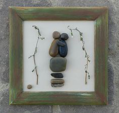 Check out this item in my Etsy shop https://www.etsy.com/listing/232111665/pebble-art-couple-rock-art-couple