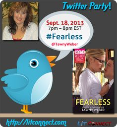 @Tawny Weber - #FEARLESS {Cosmo: Red-Hot Reads} - Twitter Party on 9/18; 7-8pm EST! @Harlequin Books
