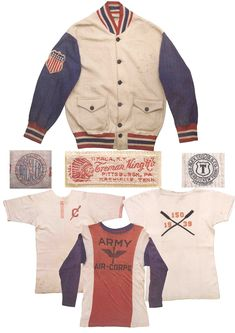 Mens Collections: Olympic US Team Jacket 1930s