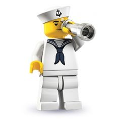 LEGO Minifigures - Sailor (firestartoys, 2013)