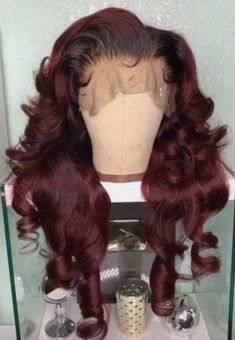 Crowned By Kelly Wigs offers beautiful full lace front human hair wigs, with you. - Crowned By Kelly Wigs offers beautiful full lace front human hair wigs, with you in mind. Baddie Hairstyles, My Hairstyle, Weave Hairstyles, Love Hair, Gorgeous Hair, Scene Hair, Lace Front Wigs, Lace Wigs, Sisterlocks