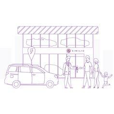 Cluster Handel & Kfz: Similio, das österreichische Informationsportal vereint und visualisiert Informationen und Statistiken mittels tausender interaktiver Karten Cluster, Floor Plans, Interactive Map, Business, Cards, Floor Plan Drawing, House Floor Plans
