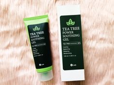W.Lab Tea Tree Power Soothing Gel Review - makeupkeith