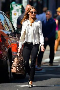 Olivia Palermo out in New York City
