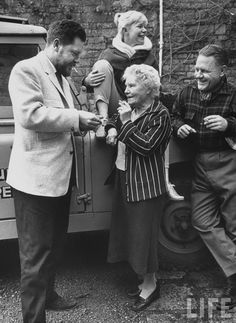 Gerald Durrell (left) and Lawrence Durrell (right) with their sister Margo and their mother Louisa Dixie.