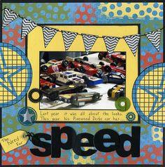 Speed-Serendipity April Altered Kit - Scrapbook.com