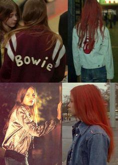 Christiane F.'s many sport jackets Bowie, F Movies, Movie Tv, Cult Movies, Eminem, Hush Hush, Chicas Punk Rock, Film Inspiration, Film Stills